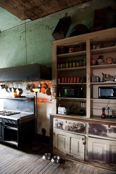 Вдохновляющий винтажный и ретро стиль кухонь / Дизайн интерьера / Архимир