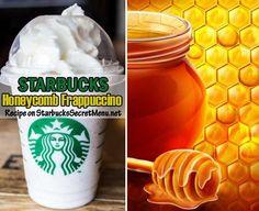 Here's the recipe: •Creme base White Mocha Frappuccino •Add honey packets (1 tall, 2 grande, 3 venti