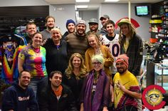 Flashback to the opening of the DTC store in November of 2013. What an awesome team!