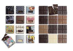 """Henrik Konnerup Chocolates ~Designed by Bessermachen DesignStudio   Country: Denmark  """"These chocolates were designed in cooperation with chocolate artist Henrik Konnerup."""