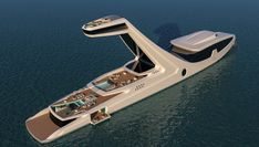 Over-the-Top Superyacht Concept Would Cost Half a Billion Dollars to Build   Boating & Yachting