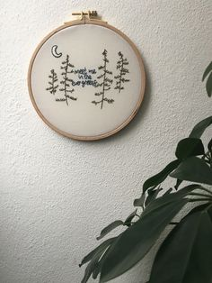 Evergreens Embroidery