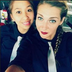 Waitresses In Black Shirts And Ties | Karla | Flickr