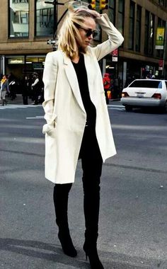every year I say I am going to get a white coat and then I talk myself out of it. Love this look
