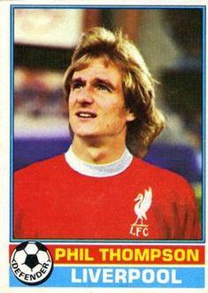 Topps Footballer - English (Red Backs) Phil Thompson Football Stickers, Football Cards, Football Shirts, Baseball Cards, Fc Liverpool, Liverpool Football Club, Retro Football, Trading Card Database, Trading Cards