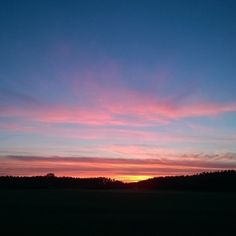 #Poland #sunset #sky