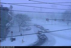 Winter on Main Street - Chardon Ohio