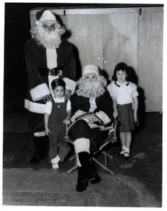 "Mr. and Mrs. Desi Claus & Family! Photo taken behind the scenes of the ""I Love Lucy"" Christmas Episode"