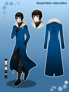 Bloody Painter-Winter Clothes by DeluCat on DeviantArt
