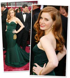 """Amy Adams in Proenza Schouler - Oscars 2008...Everything about this makes me think """"mermaid"""""""