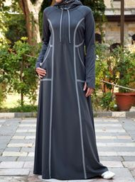 SHUKR's long dresses and abayas are the ultimate in Islamic fashion. Turkish Fashion, Islamic Fashion, Muslim Fashion, Turkish Style, Warm Dresses, Modest Dresses, Shift Dresses, Abaya Fashion, Fashion Dresses