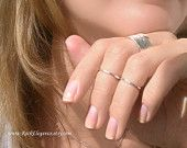 Sterling silver above knuckle / pinky little by RockElegance