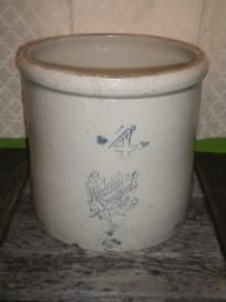 Antique Western Stoneware Company 3 Gallon Crock Monmouth