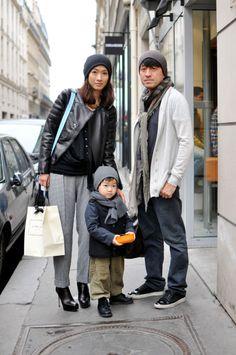 A stylish family