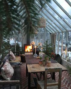Outdoor Spaces, Outdoor Living, Outdoor Decor, Greenhouse Interiors, Tadelakt, Backyard, Patio, Cozy Place, Glass House