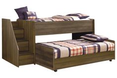 Shop Ashley Furniture Juararo Loft Bed With Caster Bed And Left Storage Steps with great price, The Classy Home Furniture has the best selection of to choose from Kids Bedroom Furniture, Home Furniture, Bunk Beds With Stairs, Loft Beds, Bedroom Images, Affordable Furniture, Girl Room, Bedding Sets, Diy Home Decor