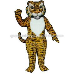 Tiger mascots - Mascot of our Tiger mascots by SpotSound UK Cartoon Mascot Costumes, Buy Comics, Promotional Events, Event Marketing, Cartoon Characters, Fictional Characters, Cat 2, Cool Cats, New Product