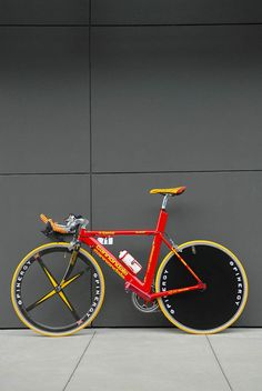 mario cipollini's time trial bike raced at the 1999 tdf