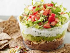 Six-Layer Dip (with under 300 calories/serving!)
