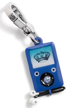 Juicy Couture MP3 Player Charm