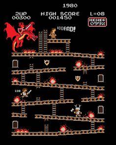 Donkey Kong Mash Up 8 Bit par Baznet
