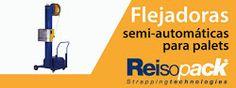 Flejadoras semi-automáticas para palets. Una gran solución para producciones menores o problemas de espacio.