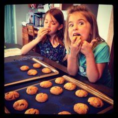 Paleo Chocolate Chip Cookies!