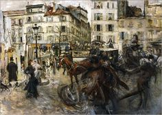 Giovanni Boldini - Place Pigalle