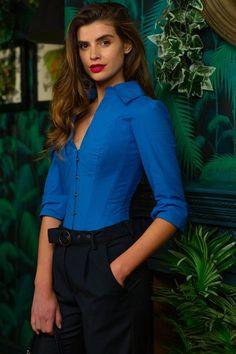 Midnight Blue Underbust With Shimmering Hip Panels – Corset Story US Corset Noir, Blue Corset, Latex Corset, Overbust Corset, Lace Tights, Flattering Dresses, Bustier, Silhouette, Shapewear