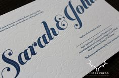 Luxurious Wedding Suite printed on 100% Cotton Stock. Design by Twelve and a Half.