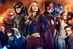 Não será um grande vilão para o crossover das séries, mas sim uma grande raça alienígena: The Dominators!       O produtor executivo de Arro...