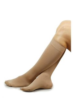 Medical compressions stockings, class 3, AD, nature, w. toe