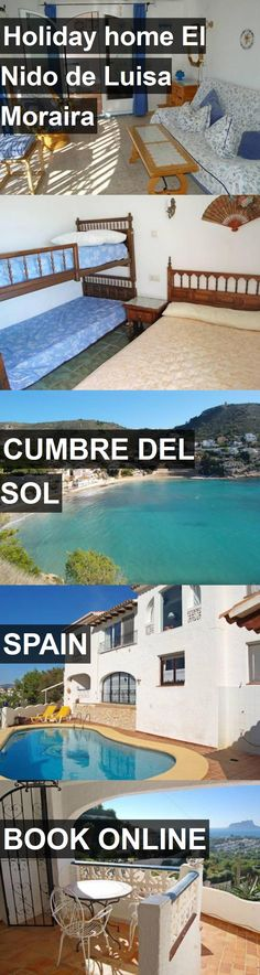 Hotel Holiday home El Nido de Luisa Moraira in Cumbre del Sol, Spain. For more information, photos, reviews and best prices please follow the link. #Spain #CumbredelSol #travel #vacation #hotel
