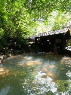 Book Ryokan Sanga in Aso / Kurokawa Onsen--- An elegant inn situ・・・ Kurokawa Onsen, Japanese Hot Springs, Traditional Japanese House, Hot Tub Backyard, Japanese Bath, Spring Spa, Screened In Patio, Kumamoto, Visit Japan