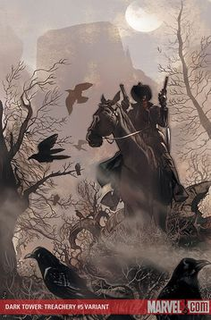 The Dark Tower: Treachery 5, Variant / Jae Lee (Artwork), Richard Isanove (Coloring)