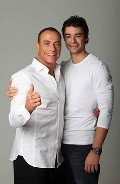 Van Damme and son Kristopher