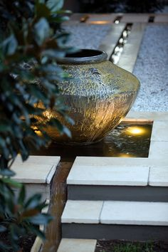 Water Feature  but without the pot for me!