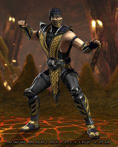 Scorpion in Mortal Kombat vs. DC Universe