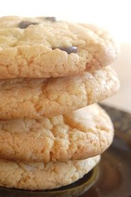 Cake Mix cookies -  these look easy to make for a quick treat