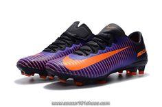 on sale dd34e be109 Nike Men s Mercurial Vapor XI FG Football Shoe Soccer Cleats Hyper Purple  Orange  75.00 Cheap Soccer