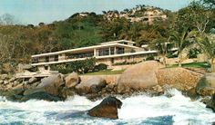 Casa habitacion, Acapulco, Guerrero, Mexico 1963  Arq. Francisco Artigas  Foto. Fermando Luna