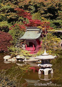 Japanese Garden by Amphotobug, via Dreamstime
