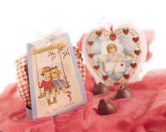 Free Printable Valentine truffle box