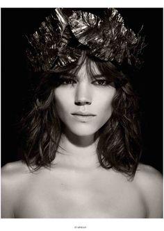 Freja Beha Erichsen as Apollo by Karl Lagerfeld for Pirelli