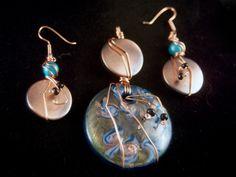 """""""Linear Copper""""-Set  Item#: 011006  Sold  fantasytocreation.com"""