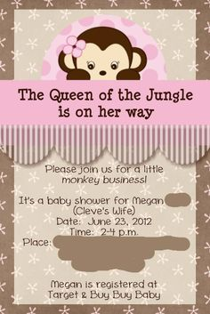 baby shower ideas for girls | Baby Shower Queen of the Jungle
