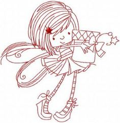 Fairy with gift box