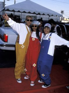 TLC Annotates Their 10 Best Looks From the 1990s, From Boxer Shorts to Photos | W Magazine