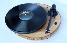 audiowood chipmunk turntable on @etsy - $850
