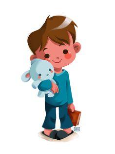 Little boy by pamela barbieri illustrations в 2019 г. Cartoon Kunst, Cartoon Art, Children's Book Illustration, Character Illustration, Illustration For Children, Little Boy Drawing, Girls Manga, Cute Little Boys, Boy Character